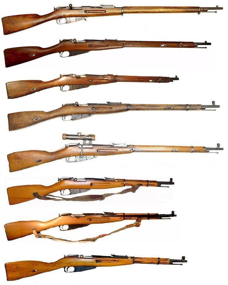 Mosin Nagant Family of Rifles